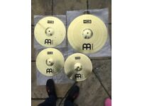 MEINL HCS Cymbals and MAPEX Hi Hat stand