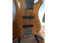 Bass Guitar 5 String RockBass by Warwick