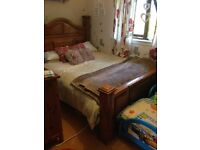 King size bed frame made by munks