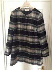Linea Black/White/Grey Check Jacket