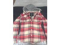 Women's L Superdry lumberjack in red