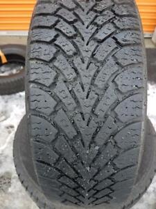 4 PNEUS HIVER - GOODYEAR 205 55 16 - 4 WINTER TIRES