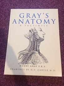 Gray's Anatomy: A Facsimile. Medical textbook for sale