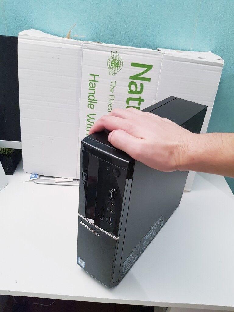 New Lenovo Thinkcentre M710q Tiny Desktop Pc Computer I5 7400t Thinkpad Yoga 12 5300u Black 360 Degree Intel Core 6th Gen 8gb Ddr4 1tb Win10