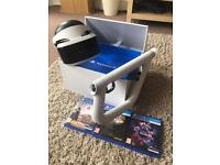 PSVR ENTIRE SYSTEM WITH AIM AND FARPOINT