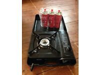 Portable Gas Camping Stove & Gas Canisters