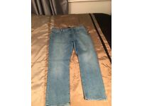 Mens River island jeans 42/30 slim fit