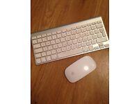 Apple Wireless Keyboard & Magic Mouse