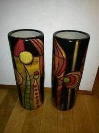 Huge art vase x2 ornament
