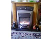 Thats it folks ... Going to a charity unless bought at £60 Electric fire in perfect condition