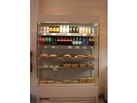 Frost-Tech WD55/125 Refrigerated Shop Display Chiller Fridge Multideck 4Ft Slim Line