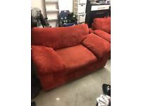 Large armchair and 2 seater sofa - Free Delivery