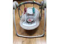 Bright Starts Cosy Kingdom Baby Swing RRP £80