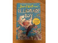 Billionaire Boy by David Walliams in excellent condition