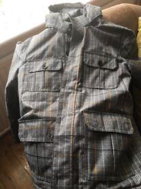Boys VANS check jacket