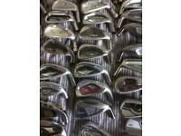 150 new and used demo heads 6 and 7 irons left and right handed