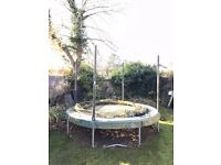 Jumpking 10ft trampoline - needs cleaning and repair