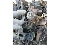 FORD TRANSIT ENGINE WITH GEAR BOX COMPLETE