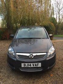 Vauxhall Zaffira 2014 - low mileage