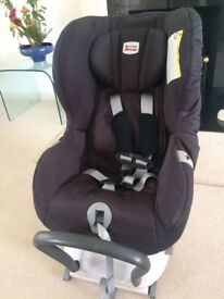 Britax romer max fix rear facing car seat, excellent condition