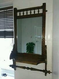 Antique Wash Stand Mirror