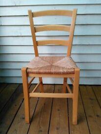 4 kitchen chairs ex Habitat. matching set.