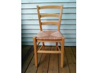 4 kitchen chairs ex Habitat. matching set.