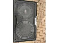 "Hertz EBXF25 sealed 10"" subwoofer"
