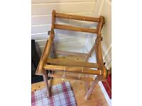 Rigid Heddle Weaving Loom with stand