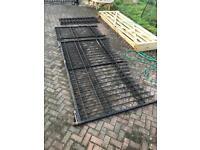 Wrought iron Driveway gates 10ft x 6ft