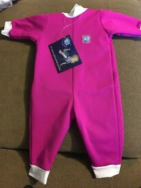Splash about wetsuit 0-3 month brand new