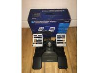 Saitek Pro Flight Rudder Combat Pedals for PC - BOXED