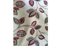 Sundour retro print cotton curtains - 168 x 229