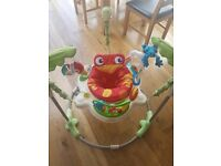 Fisherprice Rainforest Jumperoo bouncy