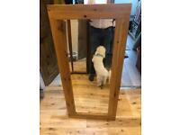 Oak mirror 130 cm x 60cm