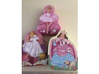 3 Princess Puzzles 36 pieces Excellent Condition