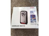 Toshiba Camileo sports camera can be used underwater
