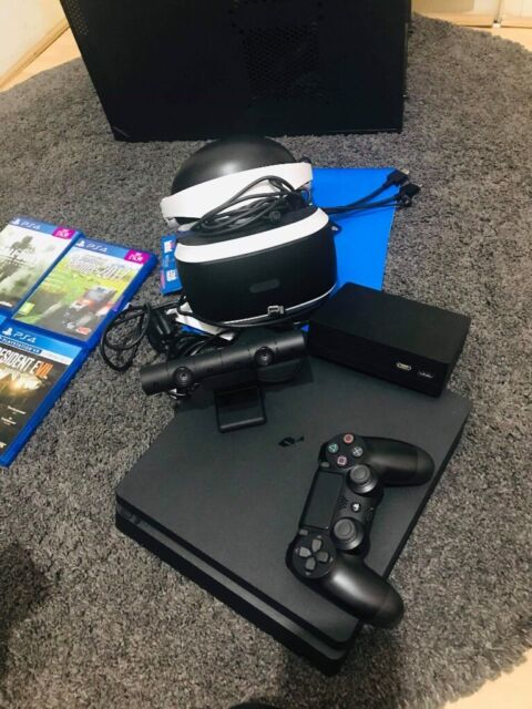 Playstation 4, 1000 Gb, + VR glasses +, Camera, 4 Brad new games | in  Clydebank, West Dunbartonshire | Gumtree