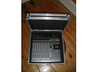 KORG D888 WITH CUSTOM FLIGHT CASE (COLLECTION ONLY)