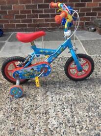 Kids paw patrol bike