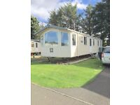 Caravan Seton Sands (nr Edinburgh) sleeps 8 - still some October availability,WiFi, smart TV, beach