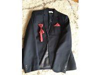 Navy age 13-14 H&M boys suit