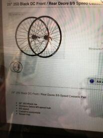 29 inch wheel set with shimano hubs