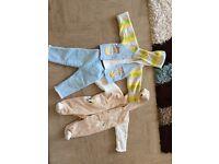 Large bundle of boys clothes 6-12 months.