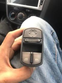 Vauxhall corsa D 2007+ front electric window switches