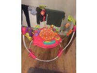 BABY GIRL PINK PETAL FISHERPRICE JUMPEROO