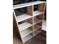 Habitat CD Shelving (wooden, with wall brackets already fitted). 2 available.