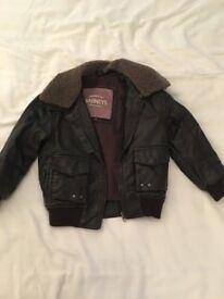 Boys barneys jacket coat age 3-4