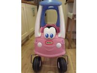 Little's Tikes Pink Car