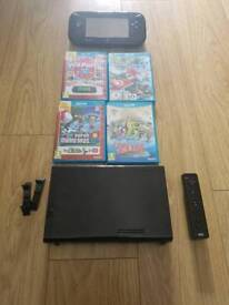 WiiU boxed with games